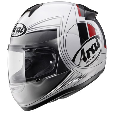 Arai Axces 2 Motorcycle Helmet in the Loop graphic