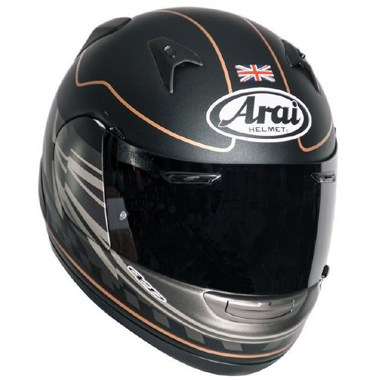 Arai Quantum ST Motorcycle Helmet in the Dark Citizen graphic