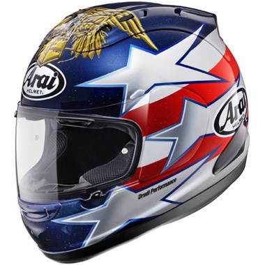 Arai RX-7 GP Motorcycle Helmet Edwards Indy