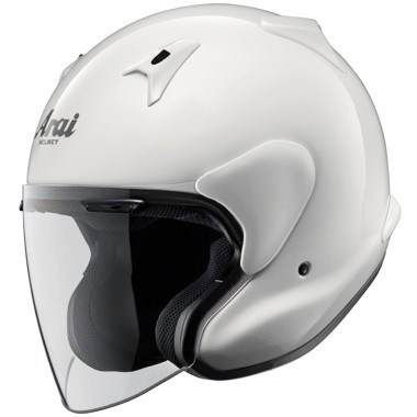 Arai X-Tend Open Face Motorcycle Helmet, in Diamond White