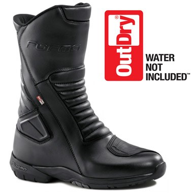 Forma Aspen Outdry Waterproof Motorcycle Boots, in Black