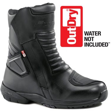 Forma Fuji Outdry Waterproof Motorcycle Boots, in Black