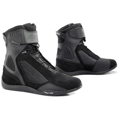 Forma Twister Waterproof Motorcycle Boots, in Black