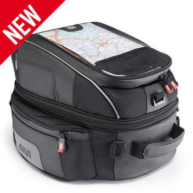 Givi XS306 XSTREAM Tanklock Motorcycle Tank Bag, 25 Litre