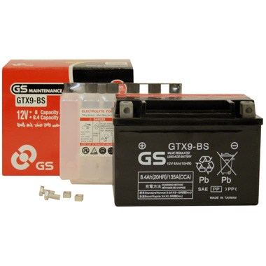 GS GTX9 BS MF Motorcycle Battery