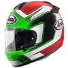 Arai Chaser V Motorcycle Helmet in the Matt Giugliano graphic