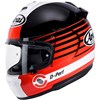 Arai Chaser V Motorcycle Helmet in the Page Red graphic