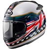 Arai Chaser V Motorcycle Helmet, in the Union Jack Graphic