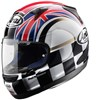 Arai Quantum Motorcycle Helmet in the UK Flag design