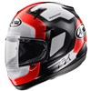 Arai Quantum ST Motorcycle Helmet in the Character Red graphic