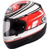 Arai Quantum Urban Red Motorcycle Helmet