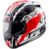 Arai RX7GP Motorcycle Helmet in the Doohan TT graphic