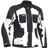 Halvarssons Prime Textile Motorcycle Jacket in Ivory and Black