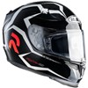 HJC RPHA 10 Plus Motorcycle Helmet, in the Aquilo graphic