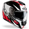 HJC RPHA ST Motorcycle Helmet in the Rugal Red graphic