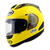 Ride Before You Buy With Arai, RX7GP Motorcycle Helmet, Bright Yellow with Smoke Diffusers, Vents and Sidepods