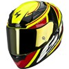 Scorpion Exo 2000 Air Motorcycle Helmet in the GP Air graphic