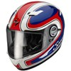 Scorpion EXO 500 Air Motorcycle Helmet in the Classico Red, Blue and White graphic