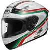 Shoei X Spirit 2 Motorcycle Helmet in the Laseca TC4 graphic