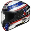 Shoei X Spirit 2 Motorcycle Helmet in the Reverb TC2 graphic
