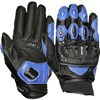 Weise Daytona Motorcycle Gloves in Black and Blue