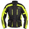 Weise Hornet 2 Hi Viz Textile Motorcycle Jacket Black, in Neon Yellow and Black