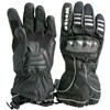 Weise Tahko Waterproof Motorcycle Gloves in Black