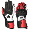 Weise Vortex Motorcycle Gloves in Black and Red