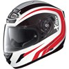 X-Lite X-702 Motorcycle Helmet Swift N Com in the Metal White 5 graphic