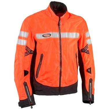 Halvarssons Hella Ladies Waterproof Outer Jacket, in bright orange