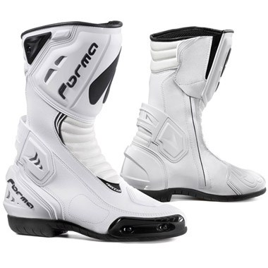 Forma Freccia Motorcycle Racing Boots White