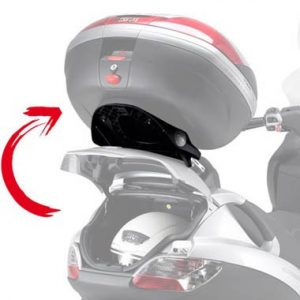 givi motorcycle luggage fitting kits for piaggio