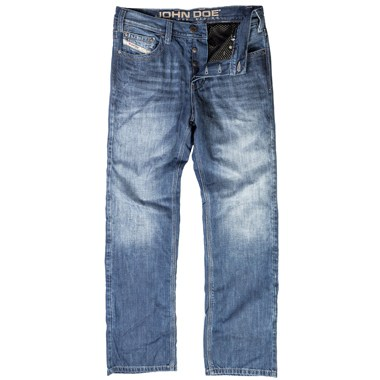 john doe kamikaze kevlar motorcycle jeans short leg light blue. Black Bedroom Furniture Sets. Home Design Ideas