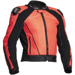 Lindstrands_chamber_leather_motorcycle_jacket_orange_black