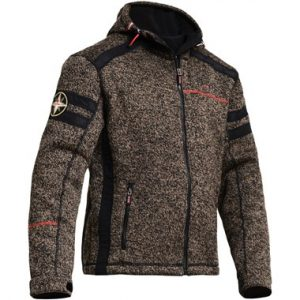 Lindstrands_woolly_textile_jacket_brown_black