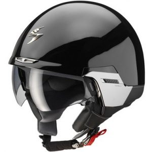Scorpion_exo_100_motorcycle_helmet_padova_gloss_black