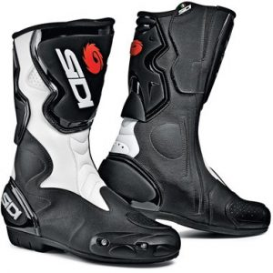 Sidi_fusion_motorcycle_boots_white_black