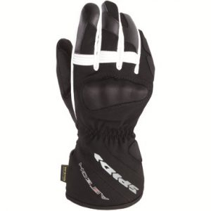 Spidi_alu_tech_waterproof_motorcycle_gloves_black_white