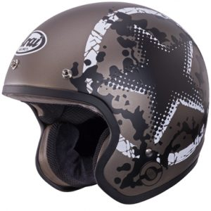 Arai Freeway 2 Open Face Motorcycle Helmet Comet Sand