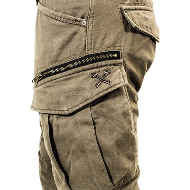john doe stroker cargo kevlar motorcycle jeans short leg camel. Black Bedroom Furniture Sets. Home Design Ideas