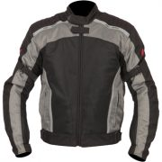 Weise Airspin Textile Motorcycle Jacket in Black and Gun