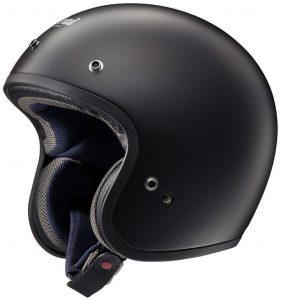 Arai Freeway Classic Open Face Motorcycle Helmet Frost Black