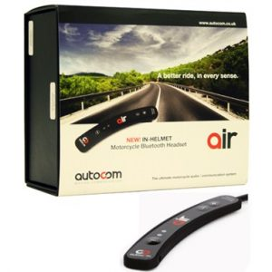 Autocom Air Bluetooth Intercom Headset