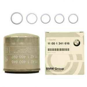 BMW Genuine Motorcycle Oil Filter Kit 11 00 1 341 616