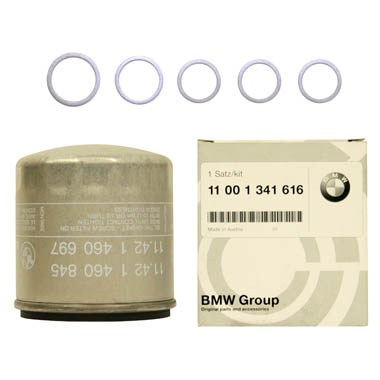 BMW Genuine Motorcycle Oil Filter Kit 11 00 1 341 616