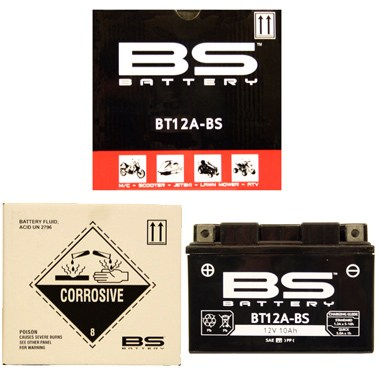BS BT12A BS MF Motorcycle Battery