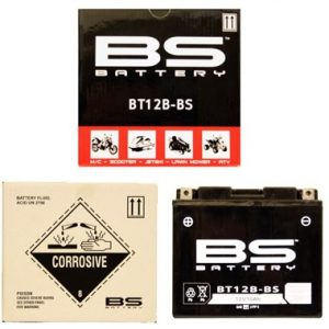 BS BT12B BS MF Motorcycle Battery