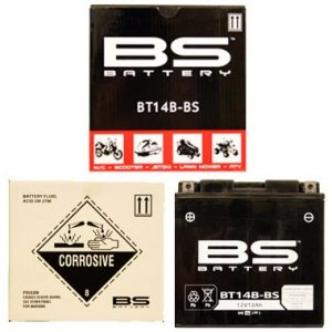 BS BT14B BS MF Motorcycle Battery