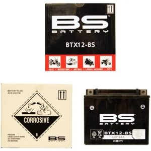 BS BTX12 BS MF Motorcycle Battery
