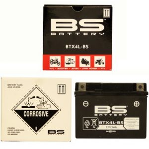 BS BTX4L BS MF Motorcycle Battery